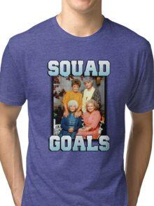 Golden Girls Squad Goals Tri-blend T-Shirt