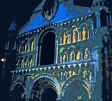 "Notre dame like you've never seen...  1 (t) as paint "" Picasso ""! olao-olavia  okaio Créations by Okaio - Olivier Caillaud"