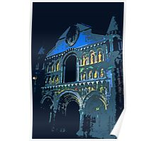 """Notre dame like you've never seen...  1 (t) as paint """" Picasso """"! olao-olavia  okaio Créations Poster"""