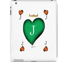 Lucky Jack of Hearts by Tony Fernandes iPad Case/Skin