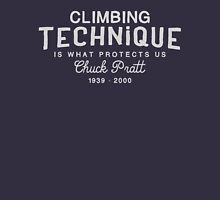 Climbing Technique Is What Protects Us Unisex T-Shirt
