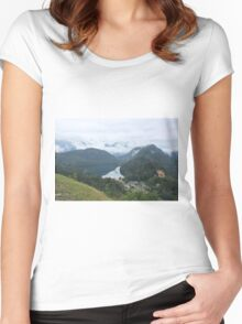 Alps and Alpsee Women's Fitted Scoop T-Shirt