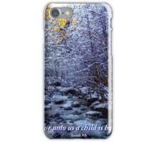 Christmas Card #2 iPhone Case/Skin