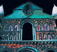 "Notre dame like you've never seen...  3 (t) as paint "" Picasso ""! olao-olavia  okaio Créations by Okaio - Olivier Caillaud"