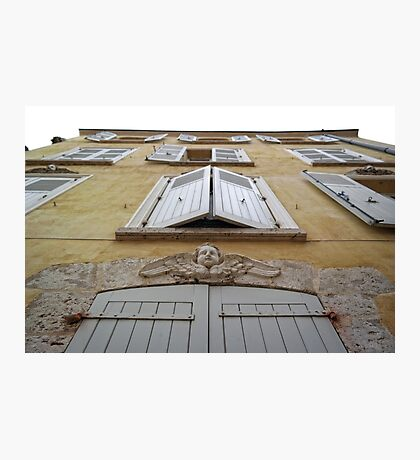 French Shutters Photographic Print