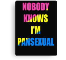 Pansexual Canvas Print