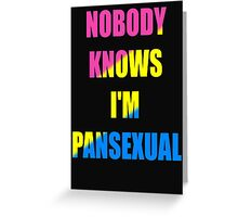 Pansexual Greeting Card