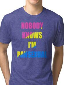 Pansexual Tri-blend T-Shirt