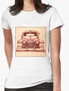 Nineteen Forty-One Olds Womens Fitted T-Shirt