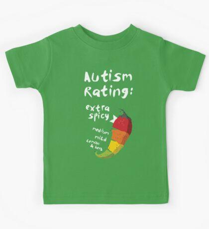 Spicy Autism Kids Tee
