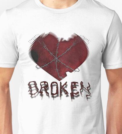 Beaten, Battered, and..... Broken Unisex T-Shirt