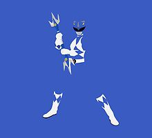 Mighty Morphin Blue Power Ranger by simplepete