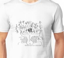 Nude with Calla Lilies- diego rivera Unisex T-Shirt