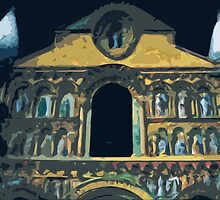 "Notre dame like you've never seen...  5 (t) as paint "" Picasso ""! olao-olavia  okaio Créations by Okaio - Olivier Caillaud"