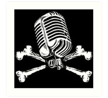 PIRATE RADIO Art Print
