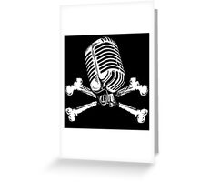 PIRATE RADIO Greeting Card