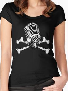 PIRATE RADIO Women's Fitted Scoop T-Shirt