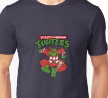Mighty Morphin Turtles - Raphael Red Ranger Unisex T-Shirt