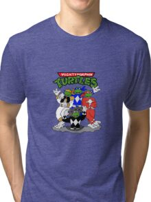 Mighty Morphin Turtles  Tri-blend T-Shirt