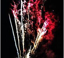 Portsmouth - Fireworks - Gunwharf - Spinnaker Tower - 31-10-2014 by m45t1n