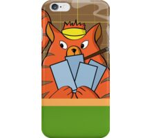 Cat Poker iPhone Case/Skin