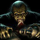 Ghoul Feeding by Paul Mudie