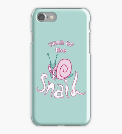 Year of the Snail iPhone Case/Skin