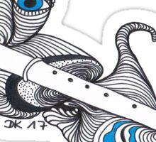 Zen Blockflöte Sticker