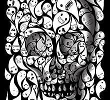 SKULL DOODLE by SFDesignstudio