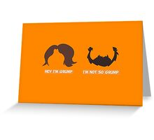 Game Grumps Jon & Arin Hair Greeting Card