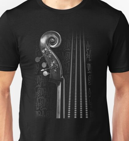 Slap Bass Monotone Unisex T-Shirt