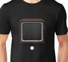 Glitch bag furniture retrofitted crt monitor storage display box Unisex T-Shirt