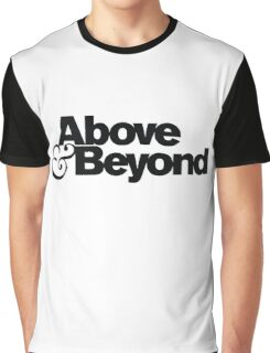 ABOVE AND BEYOND NEW DESIGN Graphic T-Shirt