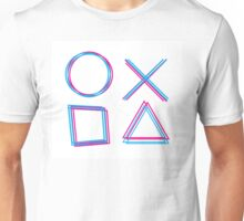 Playstation Controller Unisex T-Shirt