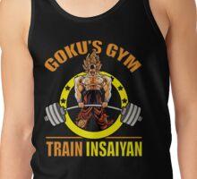 Goku's Gym - Train Insaiyan - Deadlift Tank Top