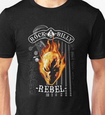 Rockabilly Rebel Slap Bass Unisex T-Shirt