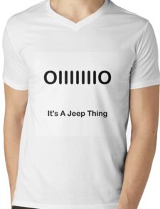It's a Jeep Thing Mens V-Neck T-Shirt