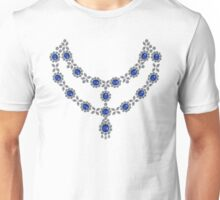 Two strand sapphire necklace Unisex T-Shirt