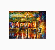 Misty Cafe - Leonid Afremov Unisex T-Shirt