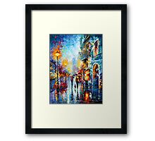 Melody of Passion - Leonid Afremov Framed Print