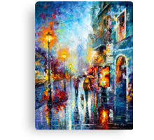 Melody of Passion - Leonid Afremov Canvas Print