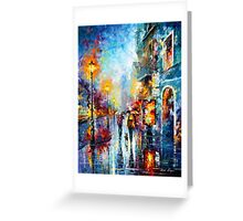 Melody of Passion - Leonid Afremov Greeting Card