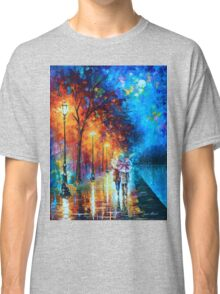 Love by The Lake - Leonid Afremov Classic T-Shirt