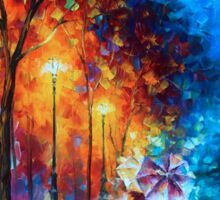 Love by The Lake - Leonid Afremov Sticker
