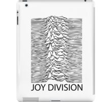Joy Division B iPad Case/Skin