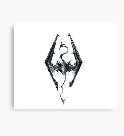 Skyrim V Elder Scrolls Canvas Print