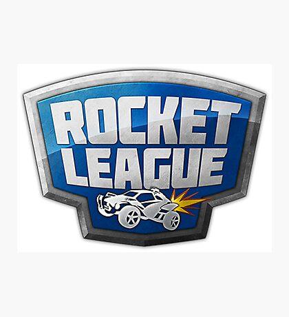 Rocket League Logo Photographic Print
