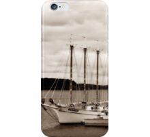 Boat in Sepia iPhone Case/Skin