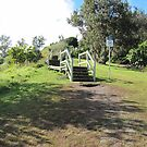 Steps & Boardwalk up to Pat Nortons Lookout! Lennox Head. by Rita Blom