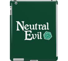 Neutral Evil iPad Case/Skin